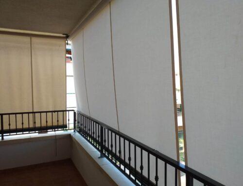 Principales usos y precios de los toldos verticales enrollables