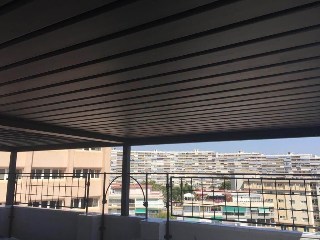 ideas cerrar terraza ático