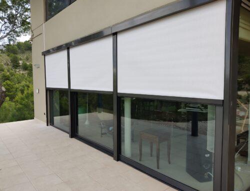 Ideas originales de cerramientos de balcones o terrazas con cristal